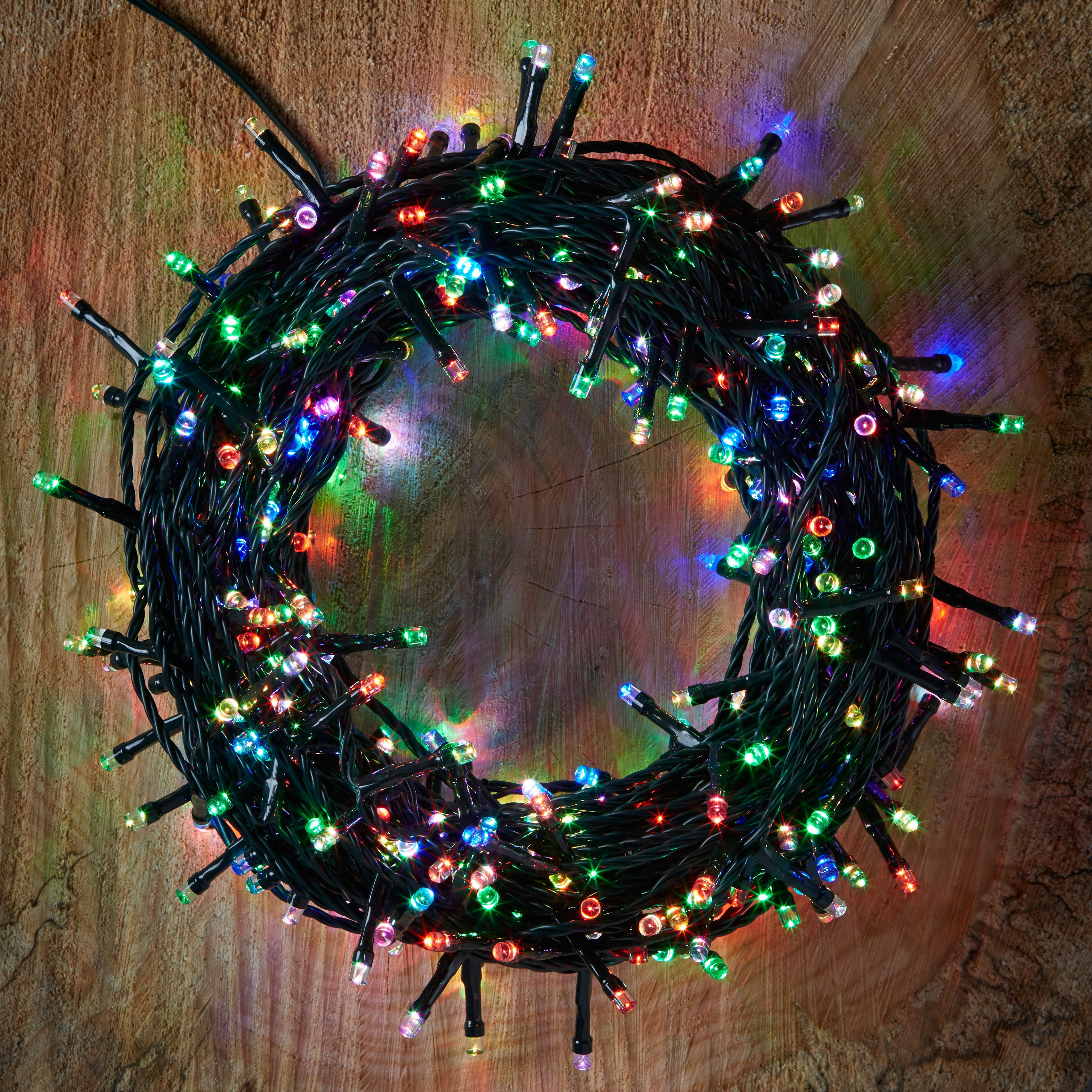 Led String Lights Diy : 400 Colour Changing LED String Lights Departments DIY at B&Q