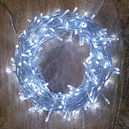 240 Ice White LED String Lights