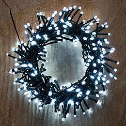 300 Ice White LED Cluster Lights