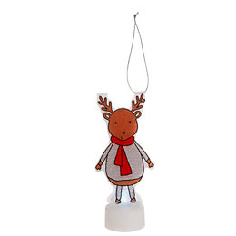 Battery Operated LED Reindeer Indoor Silhouette