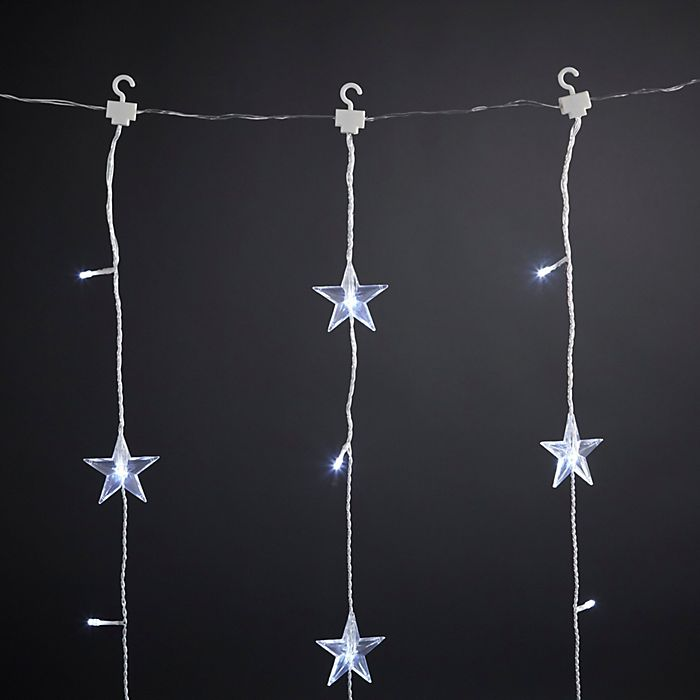 Curtain string Christmas lights