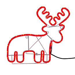 LED Reindeer Rope Silhouette