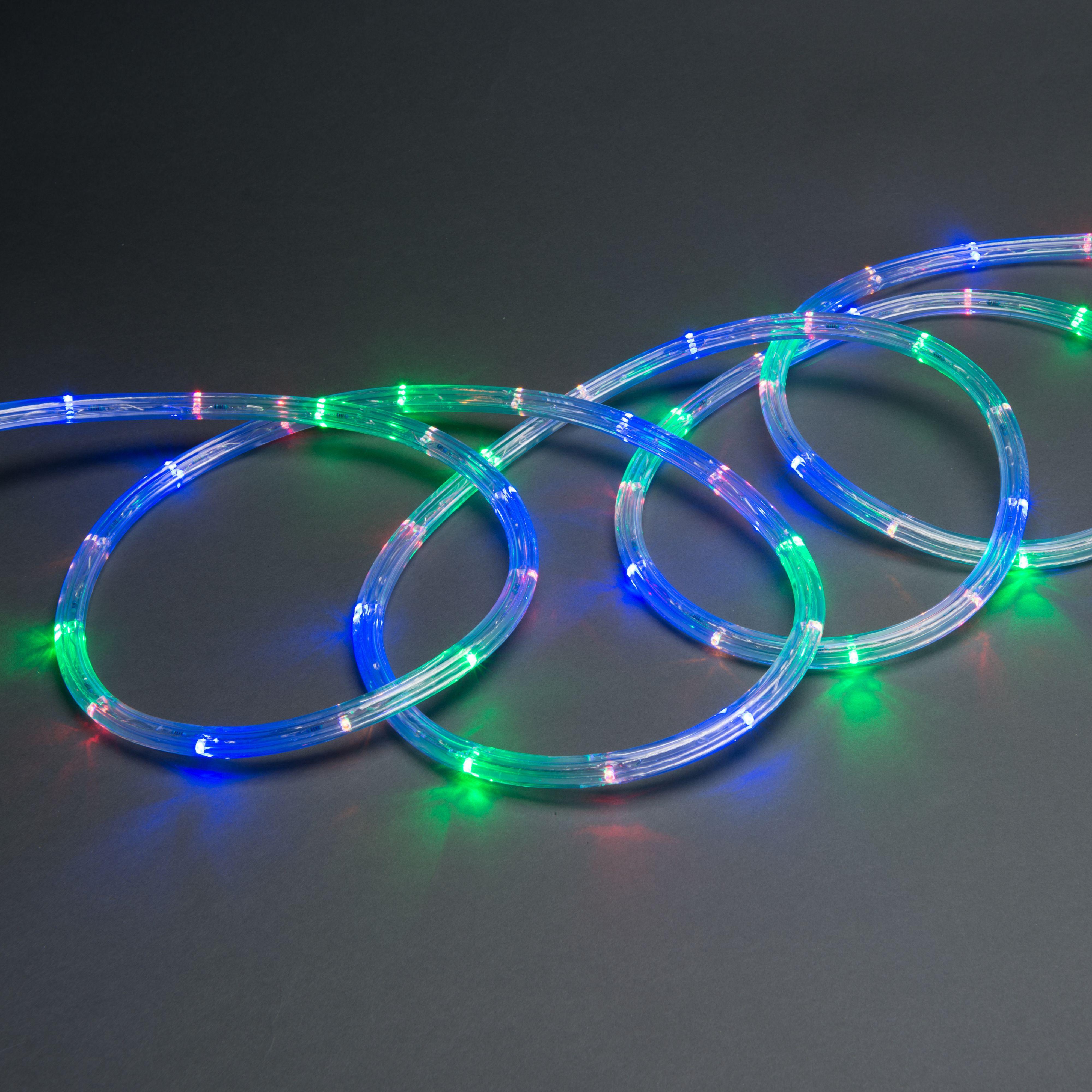 Multicolour LED Rope Light Departments DIY at B&Q