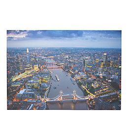 London Canvas Print (W)100cm (H)70cm