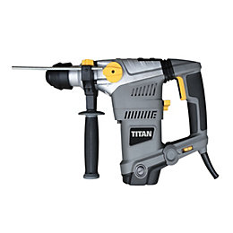 Titan 1500W 230-240V Corded SDS Plus Hammer Drill