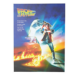 Back to The Future Canvas Print (W)60cm (H)80cm