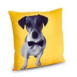 Dog Yellow Cushion