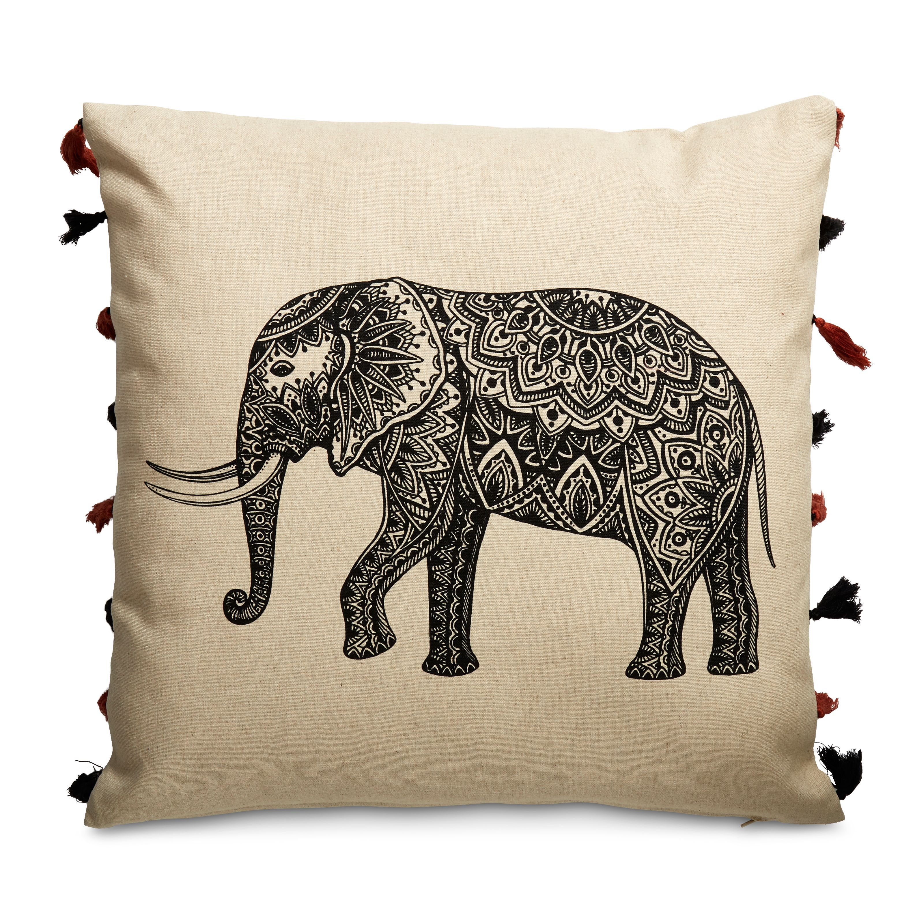 Orabelle Elephant Cushion
