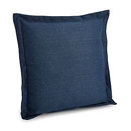 Laria Plain Navy Blue Cushion