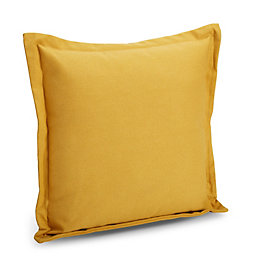 Laria Plain Yellow Cushion