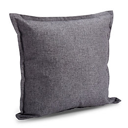 Ariona Slub Grey Cushion