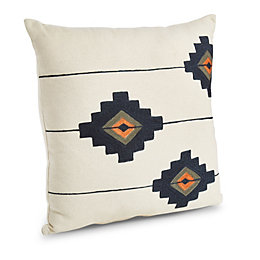 Clarita Aztec Cream Cushion