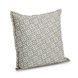 Clodovea Geometric Grey Cushion