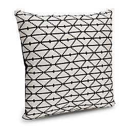 Chrissy Diamond Black & Cream Cushion
