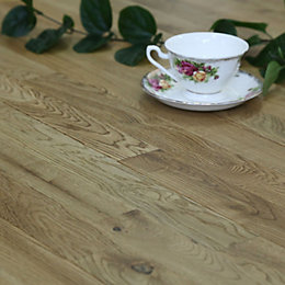 Colours Barcarolle Natural Solid Wood Flooring Oak Effect