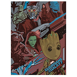 Guardians Of The Galaxy Galactic Canvas (W)600mm (H)800mm