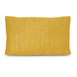 Herringbone Ochre Cushion