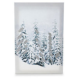 Christmas Tree Canvas Print (W)320mm (H)480mm