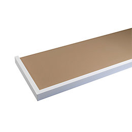 White Hearth Tray (H)50mm (W)1370mm (D)380mm