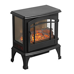 Beldray Marseille Black Electric Stove