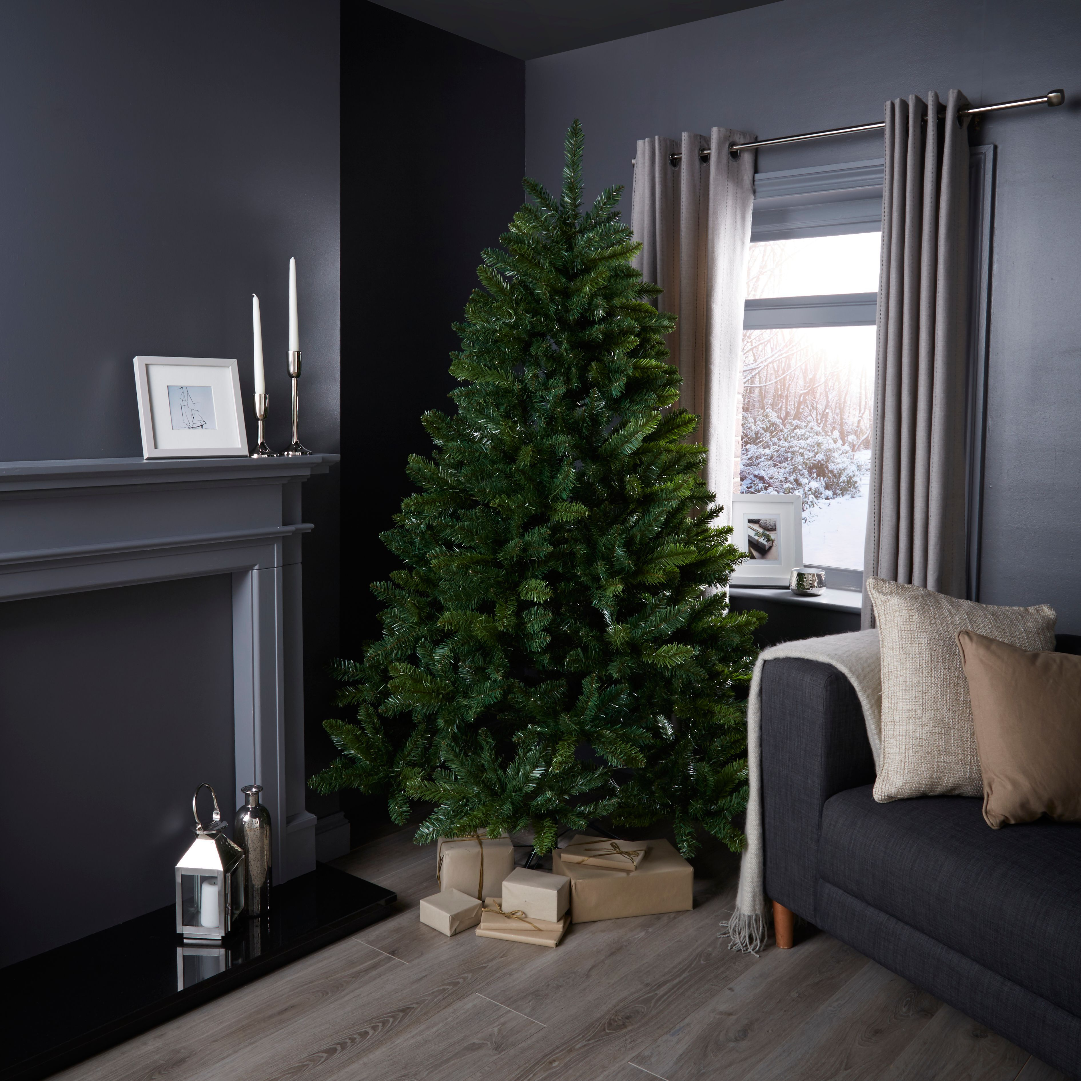 6ft 6In Rushmore Fir Tree Classic Christmas Tree