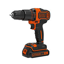 Black & Decker Cordless 18V 1.5Ah Lithium Hammer Drill price cut