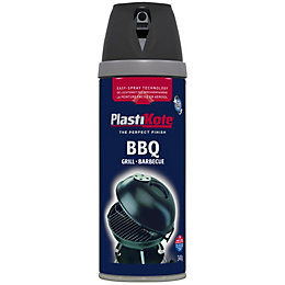 Plasti-Kote Black Satin Barbecue Paint