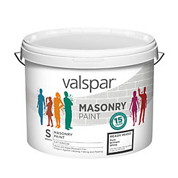 Valspar Pure Brilliant White Smooth Masonry Paint 10L