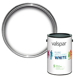 Valspar Pure Brilliant White Silk Emulsion Paint 5L