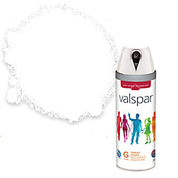 Valspar Interior & Exterior White Gloss Spray Paint