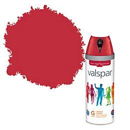 Valspar Interior & Exterior Classic Red Gloss Spray