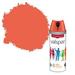 Valspar Internal & External Vermillion Gloss Spray Paint