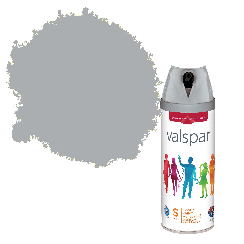 Valspar Interior & Exterior Aluminium Gloss Spray Paint 400ml