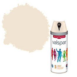 Valspar Honey & Milk Satin Spray Paint 400ml