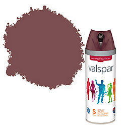 Valspar Pompeii Red Satin Spray Paint 400 ml