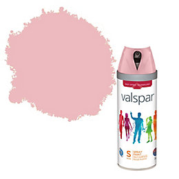 Valspar Rose Sugar Satin Spray Paint 400ml