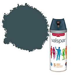 Valspar Blue Fringe Satin Spray Paint 400ml