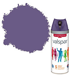 Valspar Cloak Of Night Satin Spray Paint 400