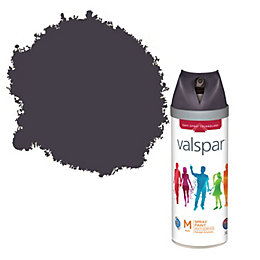 Valspar Midnight Rendezvous Matt Spray Paint 400ml