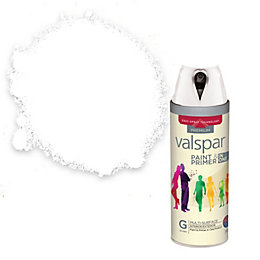 Valspar Paint & Primer In One White Gloss