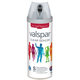 Valspar Clear Satin Sealer Spray 400 ml