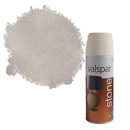 Valspar Alabaster Stone Effect Matt Spray Paint 400