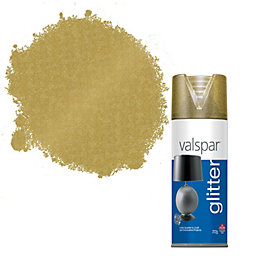 Valspar Gold Glitter Effect Spray Paint 400 ml