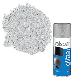 Valspar Silver Glitter Effect Spray Paint 400 ml