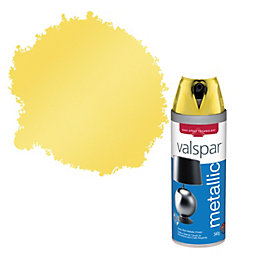 Valspar Brass Metallic Effect Spray Paint 400 ml