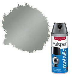 Valspar Pewter Metallic Spray Paint 400 ml