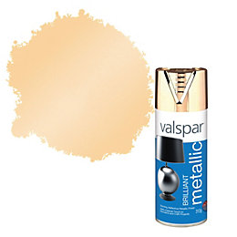 Valspar Metallic Brilliant Gold Effect Spray Paint 400