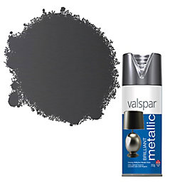 Valspar Brilliant Silver Effect Metallic Spray Paint 400