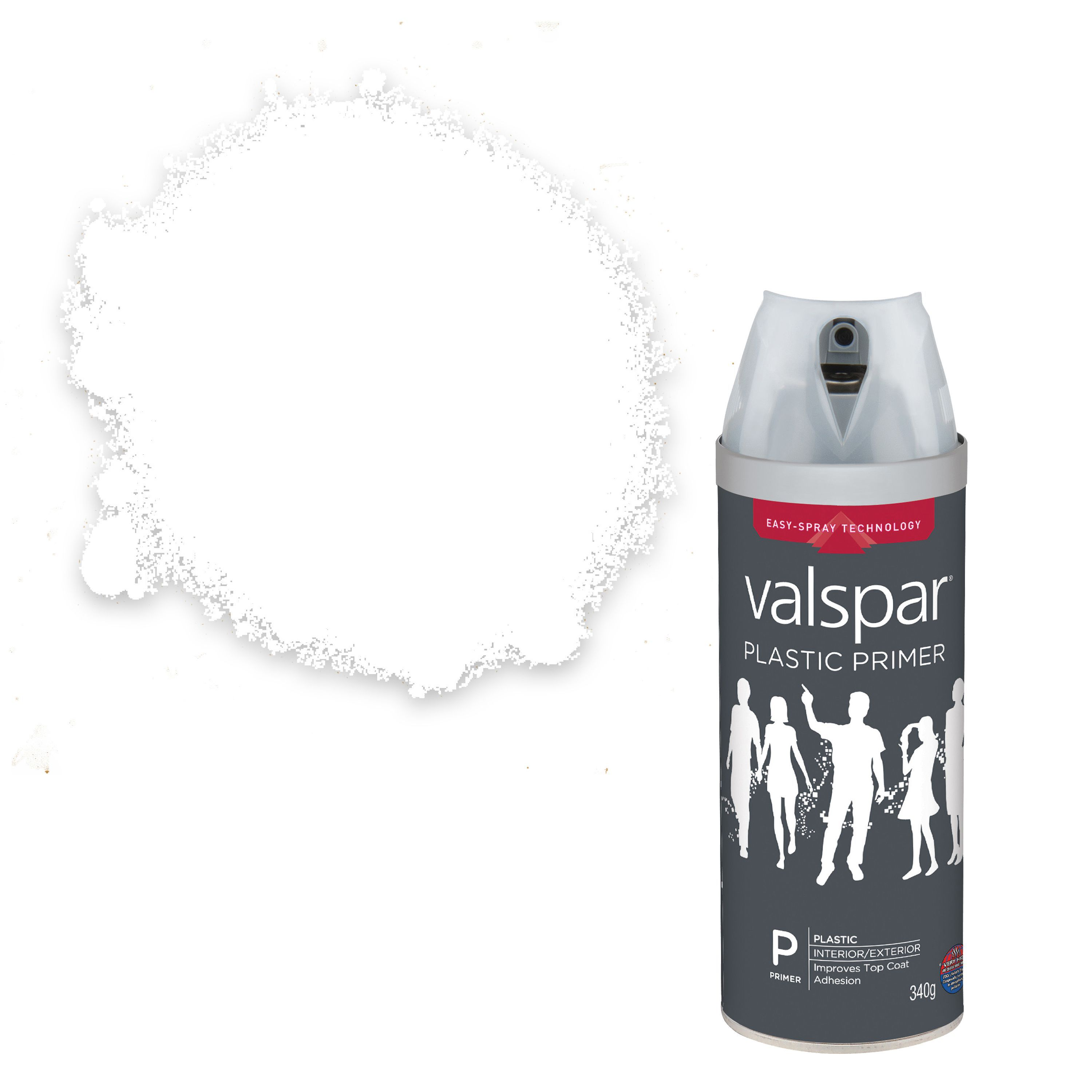 valspar paint primer in one gina 39 s eyes gloss spray paint 400ml. Black Bedroom Furniture Sets. Home Design Ideas