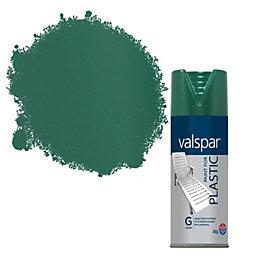 Valspar Hunter Green Plastic Spray Paint 400 ml